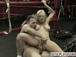 Digital Playground – Hot blonde Jesse Jane & Erik Everhard fuck in the ring