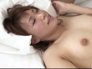 Kana Mimura ends up throating and fucking with two – More at javhd net