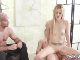 Wife Lisa Blacked Swallows Hot Load After Fucking in Front of Cuckold