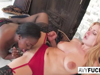 Sexy Avy Scott Loves Aryana Starr