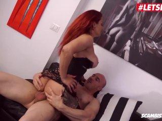 LETSDOEIT – Kinky RedHead Mom Ass Fucked By Her Lover