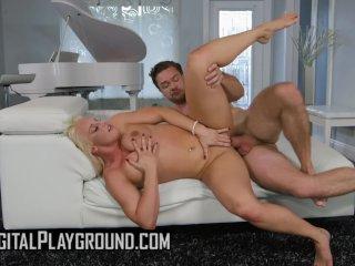Natural big tit Blonde milf Paris Knight rides cock – Digital Playground