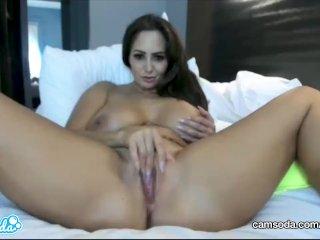 CamSoda – Ava Addams Huge Tits MILF Masturbation