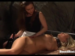 On Consignment 3: Lesbian Maid Unties Slave In Bondage And Makes Love