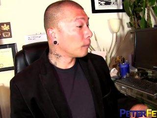 PETERFEVER Hunk Damian Dragon Barebacks Young Asian Student