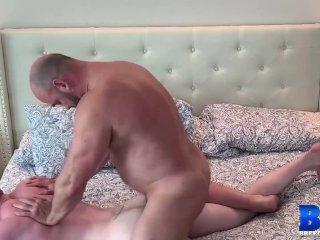 BREEDMERAW Blond Hunk Riley Ward Fed Cock And Fucked Raw