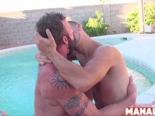 MANALIZED Kinky Josh Stone Barebacked By Inked Muscle Daddy