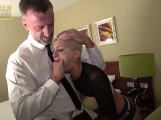 PASCALSSUBSLUTS – Busty subslut Lolly Glams ass fucked rough