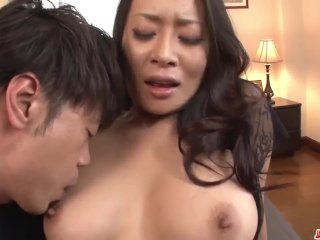 Busty MILf tries all possible positions before  – More at Japanesemamas com