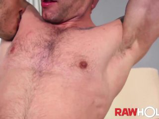 RAWHOLE Brazilian Fernando Ferraro Fucks Curly Haired Bottom