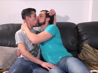 Daddy Joris Bareback Fucks Twink Axel