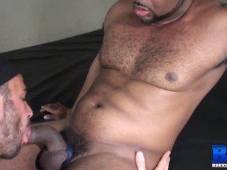 BREEDMERAW Alex Mason Blows Black Daddy Before Bareback