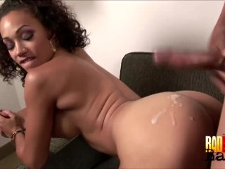 Jizz On The Phat Ass Ebony Babe Cassidy Clay