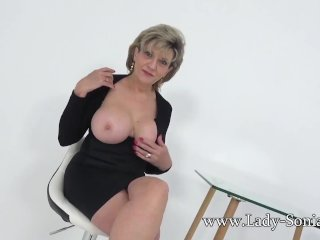 Sonia invites you over after catching you wanking