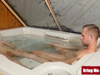 BRINGMEABOY Dominik Black Joins Daddy In The Tub And Banging