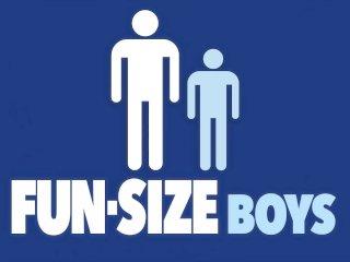 FunSizeBoys – Tall hung stud fucks tiny twink Austin Young bareback