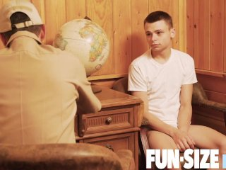 FunSizeBoys – Tiny military twink bred bareback during army physical