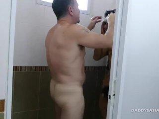 Daddy Mike Asian Boy Robin Flip Fuck