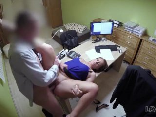 LOAN4K. Slut fucks and dreams to become professional businesswoman