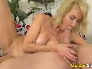 Golden Slut – Mature Dick Sucking Experts Compilation