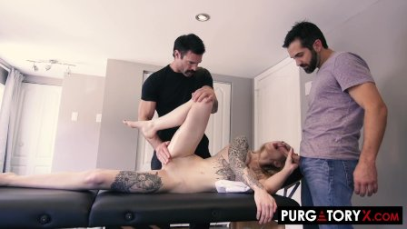 PURGATORYX My Wifes Massage Part 2 with Cassie Cloutier