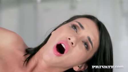Private - Beauty Katrin Tequila Throat Fucks Black Cock!