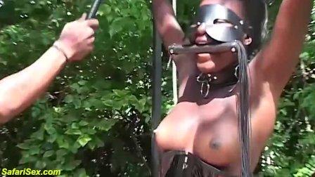 bdsm lesson for african stepsister