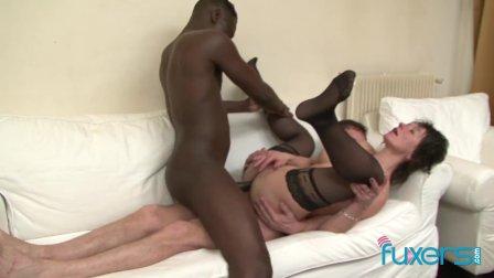 Zazala Coquine takes 2 dicks