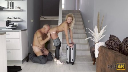 OLD4K. Teen elegant miss gladly gives herself to tender old male