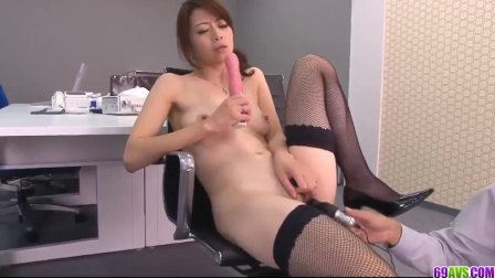 Maki Hojo superb Japanese office sex experience - More at 69avs com